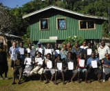 Forest sustainability training in West