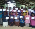 Honey training workshop at Vavanga village (Kolombangara)