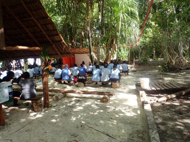 Students visit TAGU conservation project