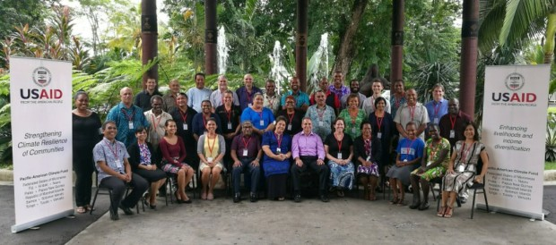 NRDF attends World Symposium on Climate Change Impacts and Adaptation Strategies to Costal Communities in Apia, Samoa.