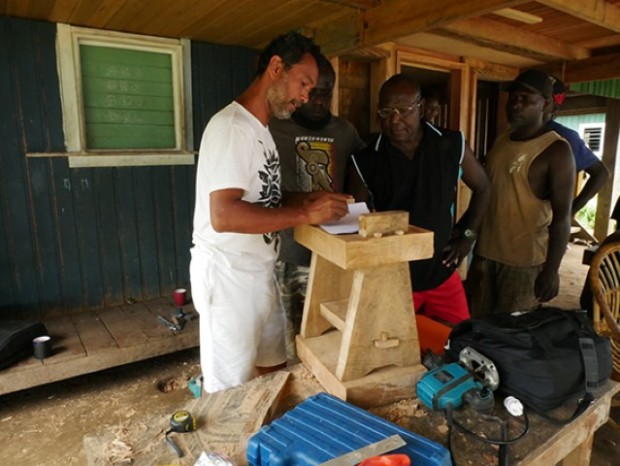 NRDF's first steps into small scale furniture making